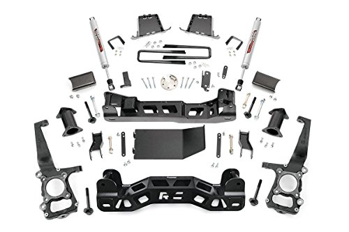 Rough Country - 598S - 6-inch Suspension Lift Kit w/ Performance 2.2 Shocks (Ford 6 Lift Kit compare prices)