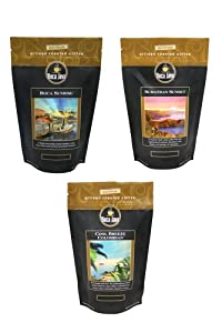 Boca Java Roast to Order, Medium Roast Variety Pack, Ground, 8 oz. bags (Pack of 3)