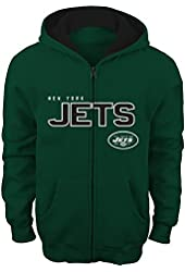 "NFL New York Jets 8-20 ""Stated"" Full Zip Hoodie"
