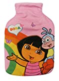 Character World Dora Rainbow Hot Water Bottle and Cover