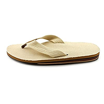Rainbow Sandals Men's Double Layer Hemp Sandal