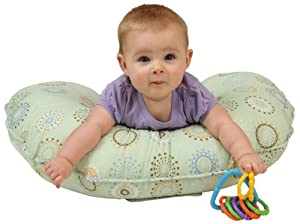Leachco Cuddle U Positioning Pillow - Nursing Pillow Sunny Circles