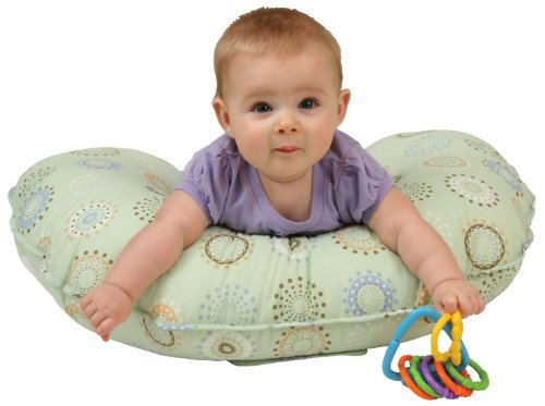Lowest Price! Leachco Cuddle U Positioning Pillow – Nursing Pillow Sunny Circles