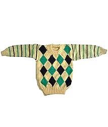 Durga Unne Ghar Kids Sweater (Durga Unne Ghar-3_Multi _2-4 Years )