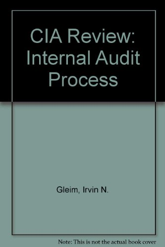 CIA Review Part 1: Internal Audit Process