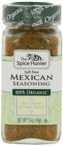 The Spice Hunter Mexican Seasoning, Organic, 1.4-Ounce Jar