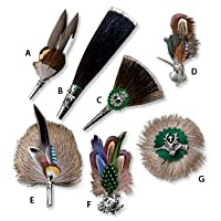 "Hat Pin And Brooch Selection / B. Classic ""gamsbart"" Hat Beard , , from Orvis"