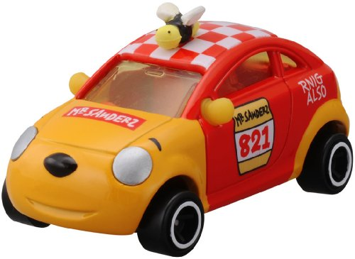 Winnie the Tomica Disney Motors DM-18 pcs a lot racing bear (japan import)