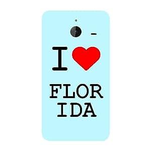 Skin4gadgets I love Florida Colour - Light Blue Phone Skin for LUMIA 640 XL