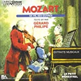 echange, troc Gérard Philippe - Mozart : Sa vie, ses Oeuvres, raconté par Gérard Philippe
