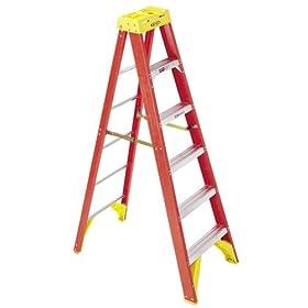Werner 3 Step Project Ladder With Platform Equipment