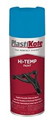 PlastiKote HP-16 Blue Hi-Temp Paint - 11 Oz.