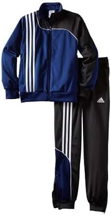 Adidas Boys 8-20 Youth Sereno 11 Presentation Suit, XX-Small, New Navy/Black