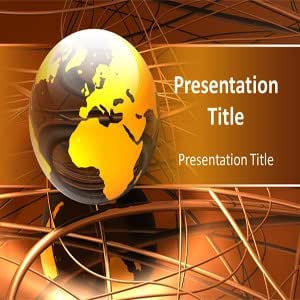 Wiring Powerpoint Templates- Wiring PPT Templates - Cables Powerpoint Templates
