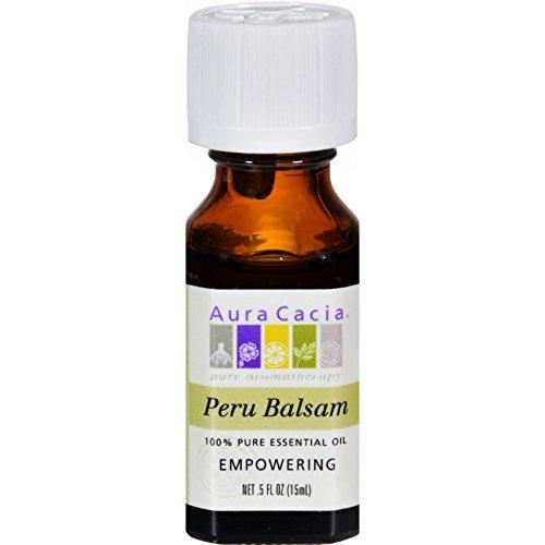 Essential Oil, 100% Pure - Balsam-Peru, 0.5 oz ( Multi-Pack)