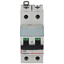 Legrand DX 3 32-Amp 2-Pole C Curve MCB 408636
