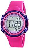 Armitron Sport Womens 457037MAG Magenta Resin Strap Watch
