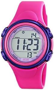 Armitron Sport Women's 45/7037MAG Magenta Resin Strap Digital Chronograph Watch