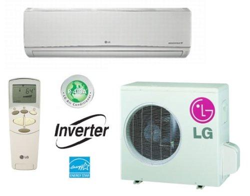 LG Ductless Air Conditioning SingleZone Wall Mount Mini Split System w/ Heat Pump 9,000 BTU