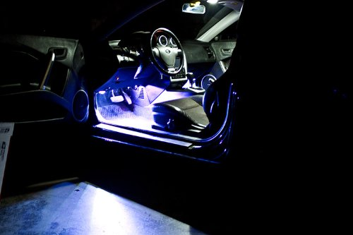 2010-2013 Kia Forte Footwell Led Kit, Cool White