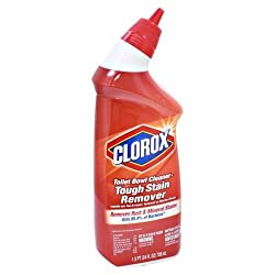Clorox Manual Toilet Bowl Cleaner Tough Stains, 709 ml