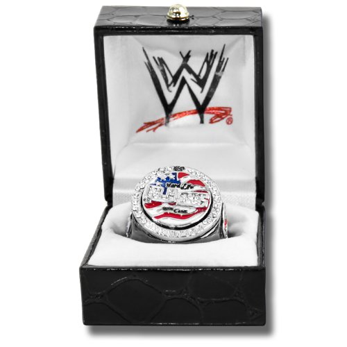 WWE John Cena US Word Life Championship Replica Finger Ring