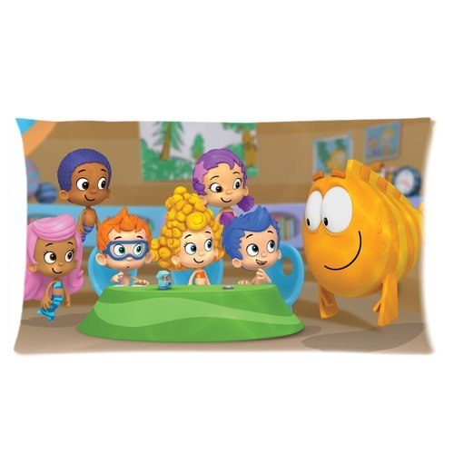 """Wholesale New Hot Cartoon Bubble Guppies Cute Molly Gil Bubble Puppy Hotsales Cartoon Pillow Cases Covers Standard Size 20""""X36"""" One Side-2"""
