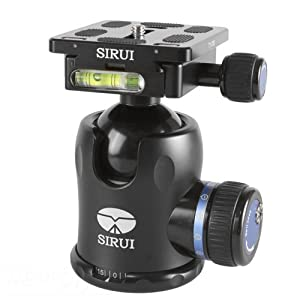 Sirui K-30X 44mm Ballhead with Quick Release, 66.1 lbs Load Capacity
