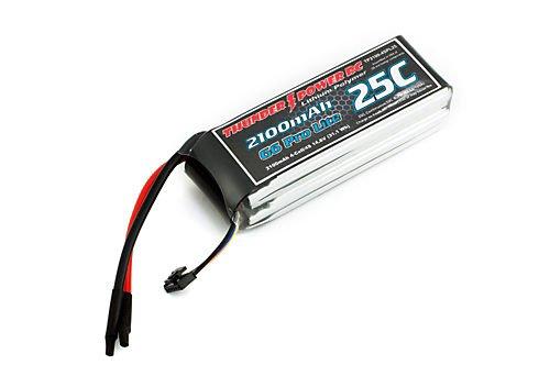 2100mAh 4S 14.8V G6 Pro Lite 25C LiPo