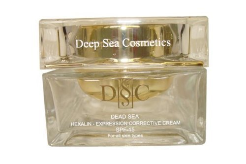 Deep Sea Cosmetics Dead Sea DSC Hexalin - Expression Corrective Cream Spf-15