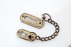 Kodia Skoda Antique Solid Brass Heavy Door Chain