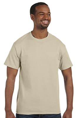 Hanes - 6 oz. Tagless T-Shirt >> 2XL,SAND