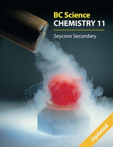 Bc Science Chemistry 11: Seycove Secondary