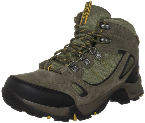 Hi-Tec Men's Falcon Wp Smokey Brown/Taupe/Core Gold Hiking Boot O001665/041/01 10 UK, 44 EU, 11 US