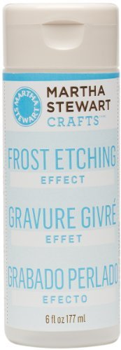 Martha Stewart 32202 6-Ounce Frost Etching Effect front-290516