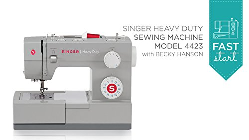Fast Start - Singer Heavy Duty 4423 (Digital Sewing Machine Singer compare prices)