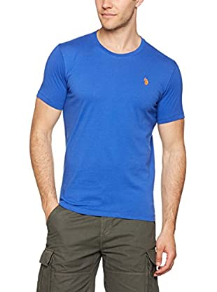 US POLO ASSN Camiseta Manga Corta (Azul Royal)