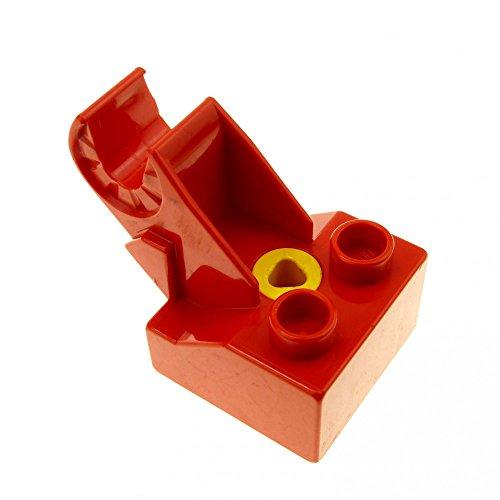 1 x Lego Toolo Duplo Stein rot 2x2 Arm Baustein