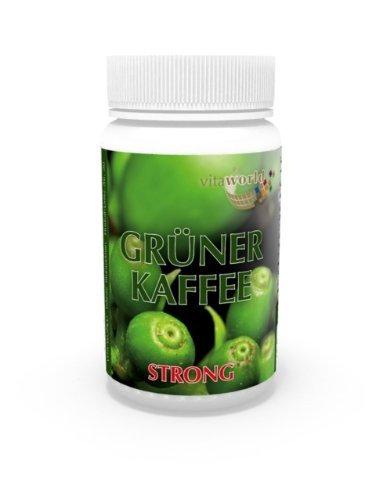 Green Coffee Strong 500Mg 60 Vegetarian Capsules Vita World 50% Chlorogenic Acid German Pharmacy Production