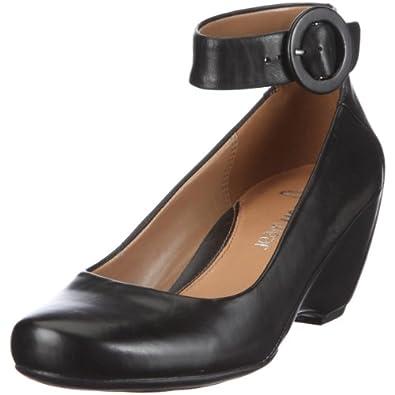 Clarks Capricorn Moon, Escarpins femme Noir (Black Leather) 41.5
