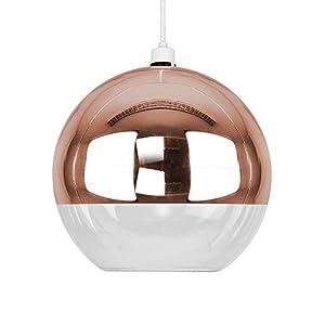 Modern Glass Ball Ceiling Pendant Light Shade by MiniSun