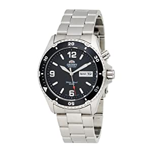 Orient Men's CEM65001B 'Black Mako' Automatic Dive Watch by Orient