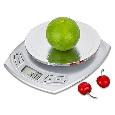 Etekcity 15lb/7kg Digital Kitchen Food Scale, 0.01oz Resolution, Calibration Supported