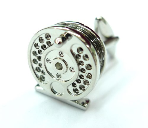 Silver Plated Fly Fishing Cufflinks Cuff Links