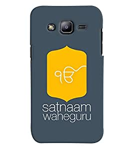 MakeMyCase Satnaam Guru-3 case For Samsung J3