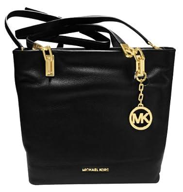 Michael Kors Brooke Medium Tote in Black: Handbags: Amazon.com