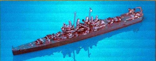 Skywave 1/700 WWII US Light Cruiser Cleveland Class CL55 Cleveland Model Kit