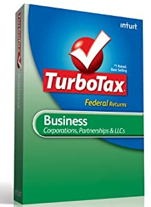 TurboTax Business Fed + E-File 2012 [Old Version]