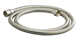 KOHLER K-9514-BN MasterShower 60-Inch Metal Shower Hose, Vibrant Brushed Nickel
