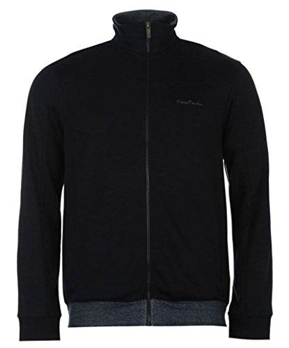 Pierre Cardin Jersey Full Zip Hoody Uomo Blu Mare L